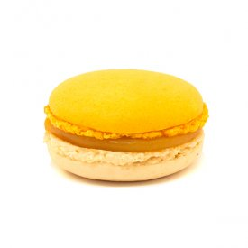 Abricot & amande – Macaron doux abricot-amande