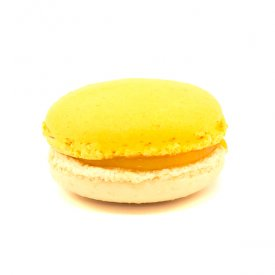 Mangue & gingembre – Macaron exotique mangue & gingembre