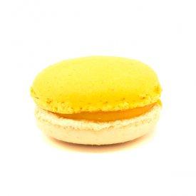 Mangue & gingembre – Macaron exotique mangue & gingembre