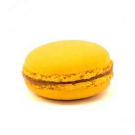 Kalamansi – Macaron acidulé au caramel au kalamansi